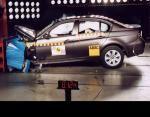 Краш-тест BMW 3 series