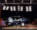 Краш-тест BMW 5 series