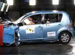 Краш-тест Daihatsu Sirion