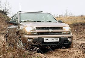 Тест-драйв Chevrolet Trailblazer. Братцы дядюшки Римуса