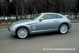 Тест-драйв Chrysler Crossfire (Крайслер Кроссфире): характеристики, фото, цена