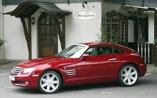 Тест-драйв Chrysler Crossfire. Crossfire идет в атаку