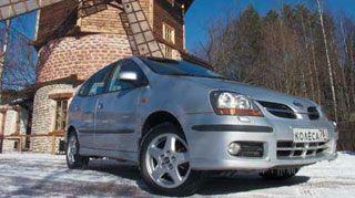 ���� ������ ����������� Nissan Tino. ����� ������ ����